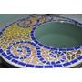 Espejo Redondo Tecnica Mosaico Veneciano