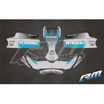 Gráfica Karting Formula 1 - Calcos Laminados 3m - Rmgraphics