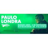 Entradas Campo Paulo Londra Hipodromo Palermo 2 Noviembre