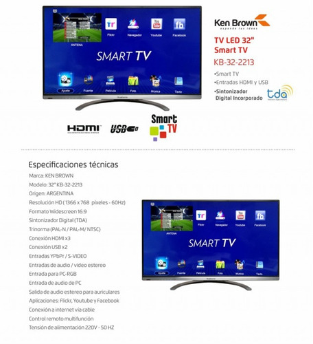 b6e27b5b5 Tracking details of Smart Tv Led 32 Ken Brown Netflix Wifi