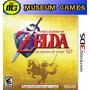The Legend Of Zelda Ocarina Of Time 3d 3ds Español Sellado !