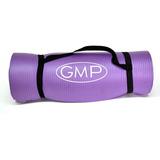 Colchoneta Mat Gimnasia Yoga Pilates Caucho 10 Mm  Gmp Violeta Nbr