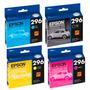 Pack 4 Cartucho Epson T296 296 T296120 Para Tx 231 Nuevo