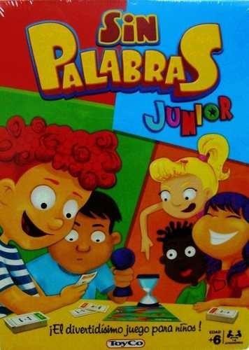 Sin Palabras Junior Juego De Mesa Original Toyco Twister A Ars