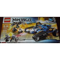 Lego Ninjago 70723 La Caza Terrestre Del Trueno 334 Piezas