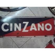 Replicas De Carteles Antiguos!! Cinzano Horizontal Unicos Ml