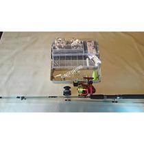 Combo De Pesca Redfish Caña+reel+caja+accesorios/ninofishing