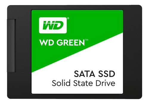 Disco Sólido Interno Western Digital Wd Green Wds480g2g0a 480gb Verde