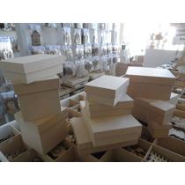 Cajas De Fibrofacil Mdf (3mm) 15x15x15 Plegado En Una Pieza
