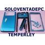 Carcaza Nokia N8 Azul C/tapa De Bateria Metalica + Tactil