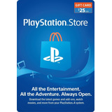 Psn Gift Card 25 Usd - Eeuu Store - Ps4 Digital - Valhalla