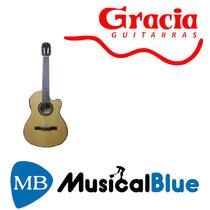 Guitarra Clasica Gracia Wilde Jr C/ Eq 5 Bds Y Afinador Fund