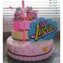 Torta Soy Luna. Patines Y Cartel Con La Letra Original!!!