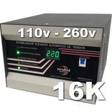 Elevador Automático Tensión 16 Kva Estabilizador Rango 110v