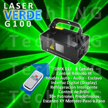 Laser Verde Dmx Profesional ~ Digital + Regalo + Video!