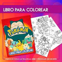 Busca Libros Para Colorear Soy Luna Y Pokemon Go Souvenir