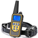 Collar Antiladrido Electrico Vibracion Adiestramiento Perros Canino Recargable