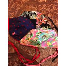Cofias Quirúrgicas Lisas Estampadas Ajustables Pack X3 Olli