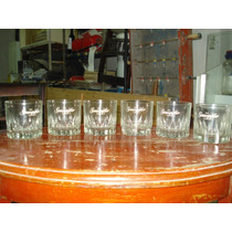 Vasos De Whisky Antiguos De Old Smuggler, Extraordinarios
