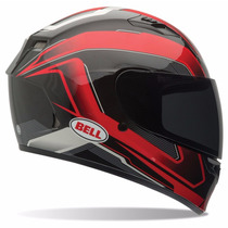 Casco Moto Integral Bell Qualifier Rojo / Negro Envio Gratis