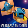 Gorro Tejido Al Crochet De Dory - Buscando A Nemo