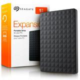 Disco Externo Seagate 1 Tb Expansion Usb 3.0 Negro Portatil