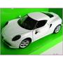 Alfa Romeo 4c Replica Coleccion Escala 1:24 Welly