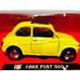 New Ray Fiat 500 F 1965 Fitito Amarillo Hermoso Nuevo 1/32
