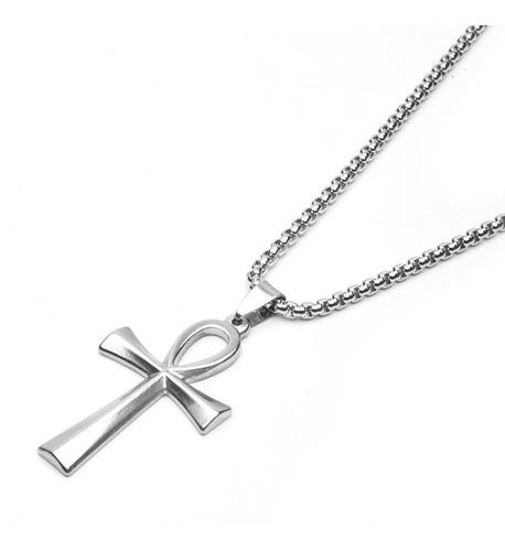 ad67e8ebd851 Cadena Collar Hombre - Dije Cruz - Acero Quirúrgico - en venta en ...