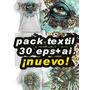 Pack Textil ¡30 Nuevos! Telas+remeras+buzos-etc.vectores