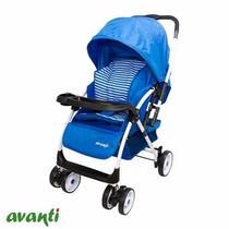 Babynet Coche Ultraliviano Manija Rebat Avanti (metal Cony)
