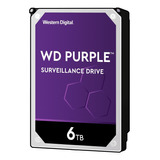 Disco Duro Interno Western Digital Wd Purple Wd60purx 6tb Púrpura