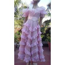 Vestido De Fiesta 15 Años Novia Madrina Talle Xs