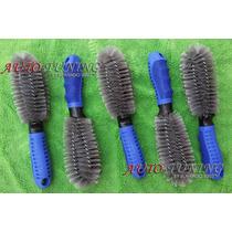 Cepillo Para Limpieza De Llantas Mango Ergonomico Reforzado
