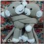 Muñecos Amigurumis Monitos Abrazadores Para Cortinas