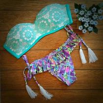 Bikini 2 Piezas Temporada Primavera Verano 2015 2016 Mallas