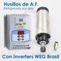 Husillo 1, 2 Y 3hp C/inverter Weg Para Cnc Router Pantografo