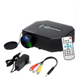 Mini Proyector Portatil Tv Led 150l Video Usb Vga Uc30 Hdmi