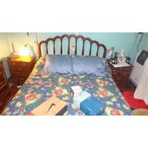 Juego De Dormitorio Estilo Ingles Dos Plaza Perfecto Estado