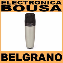 Microfono Samson C01 Condenser De Estudio Belgrano