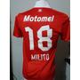 Camiseta Independiente Puma Motomel 18 Milito