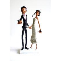 Muñecos Casamiento Torta
