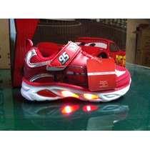 Zapatillas Disney Niño Cars Con Luces