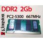 Memoria Kingston Ddr2 2gb 667mhz Pc2-5300s Notebook Net Mac
