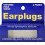 Tapones Para Oidos Silicona Moldeable X 4 Earplugs