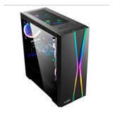 Gabinete Pc Gamer Sentey X20 Fan Rgb Acrilico