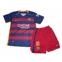 Conjunto De Niño Barcelona Nike Original Camiseta Y Short!!