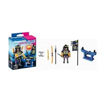 Playmobil - Samurai Con Estante De Armas - Tuni 4789