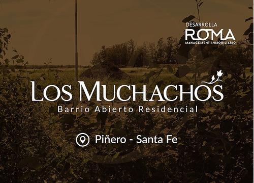 Emprendimiento Lote Terreno -  Los Muchachos - Barrio Abierto  Residencial