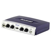 Lexicon Alpha Interfaz De Audio Usb Instrumento Mic Estudio